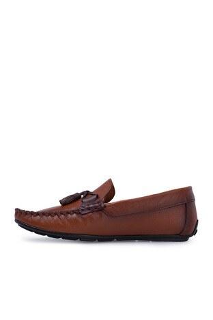 Navigli Hakiki Deri Erkek Ayakkabı 56442316B TABA