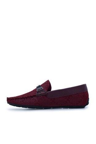 Navigli Hakiki Deri Erkek Ayakkabı 56442320SB BORDO