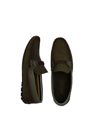 Navigli Hakiki Deri Erkek Ayakkabı 56442320SB HAKİ