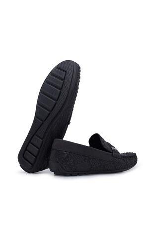 Navigli Hakiki Deri Erkek Ayakkabı 56442320SB SİYAH