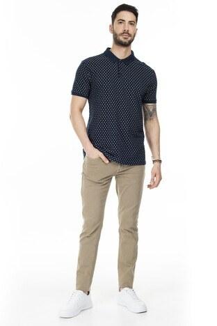 Navigli T Shirt Erkek Polo 5273DSN7 LACİVERT