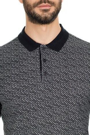 Navigli Yaka T Shirt Erkek Polo 5273DSN32 SİYAH-GRİ
