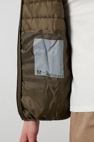 New Balance Kapüşonlu Şişme Erkek Mont MPJ035-TPG YEŞİL