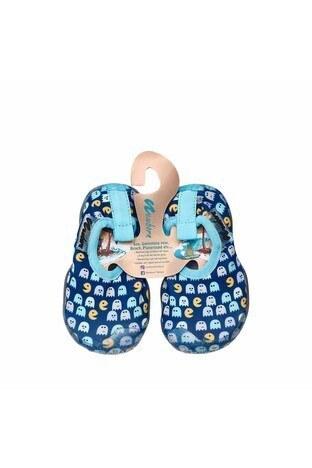 Newborn Aqua Kaydırmaz Havuz ve Deniz Unisex Çocuk Ayakkabı NAQ2010 LACİVERT-MAVİ