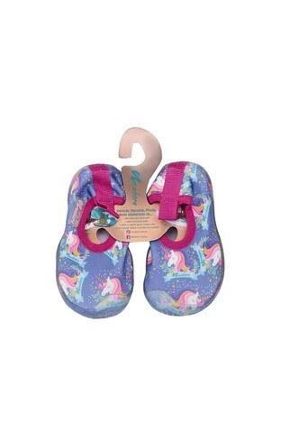 Newborn - Newborn Aqua Kaydırmaz Havuz ve Deniz Unisex Çocuk Ayakkabı NAQ2010 LİLA-PEMBE