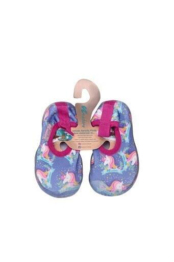 Newborn Aqua Kaydırmaz Havuz ve Deniz Unisex Çocuk Ayakkabı NAQ2010 LİLA-PEMBE