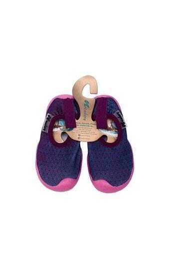 Newborn Aqua Kaydırmaz Havuz ve Deniz Unisex Çocuk Ayakkabı NAQ2010 PEMBE-MOR