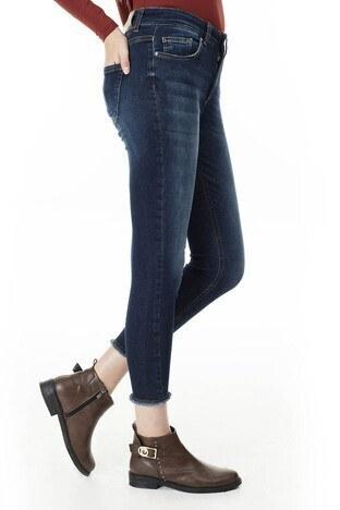 Only Onlblush Jeans Bayan Kot Pantolon 15216973 LACİVERT