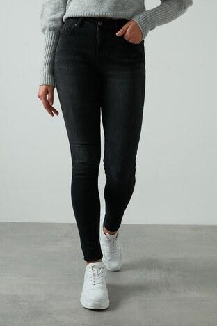 Only - Only Onlblush Skinny Pamuklu Jeans Bayan Kot Pantolon 15209666 SİYAH