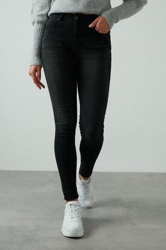 Only Onlblush Skinny Pamuklu Jeans Bayan Kot Pantolon 15209666 SİYAH