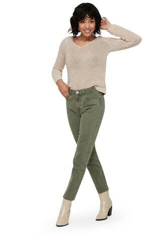 Only Onlemily Jeans/HAKİ/30-32 Bayan Kot Pantolon 15175323