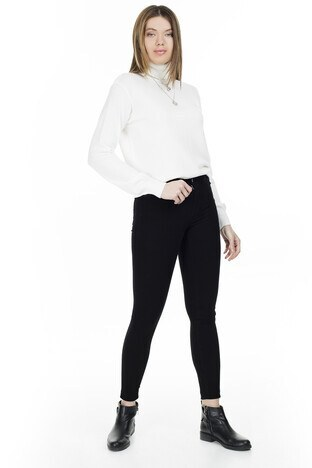 Only - Only Onlida Jeans Bayan Kot Pantolon 15200938 SİYAH