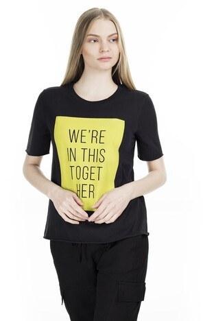 Only Onlkarol Bayan T Shirt 15199864 SİYAH