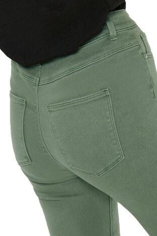 Only Onlmila Jeans Bayan Kot Pantolon 15196981 HAKİ