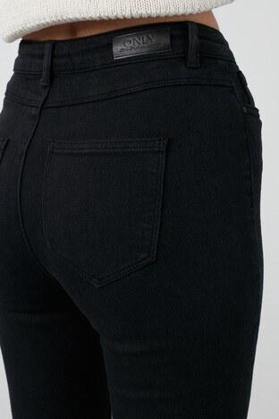 Only Onlmila Yüksek Bel Skinny Pamuklu Jeans Bayan Kot Pantolon 15211050 SİYAH
