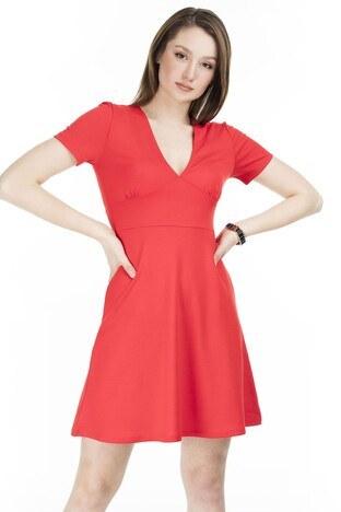 Only Onlnicola Mini Bayan Elbise 15202226 KIRMIZI