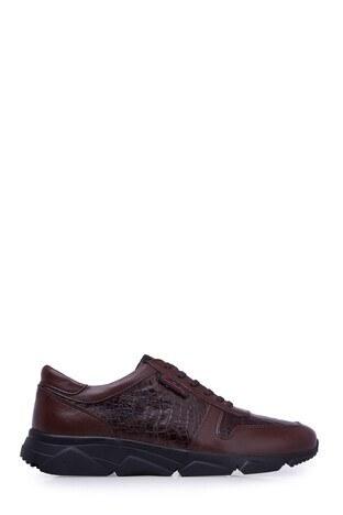 Pierre Cardin - Pierre Cardin Deri Erkek Ayakkabı 07314785K KAHVE