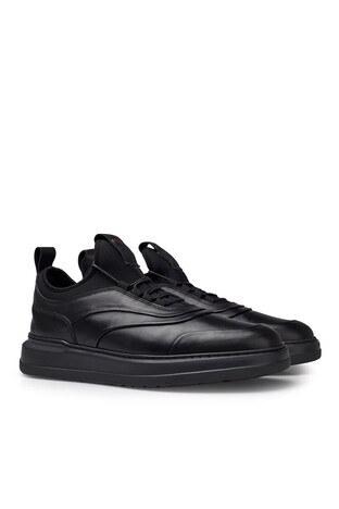 Pierre Cardin Deri Erkek Ayakkabı 073524132E SİYAH