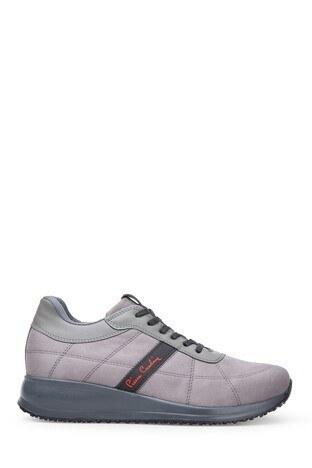 Pierre Cardin - Pierre Cardin Erkek Ayakkabı K9529 GRİ SÜET