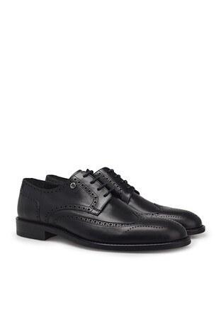 Pierre Cardin Hakiki Deri Klasik Erkek Ayakkabı 07337A4005N SİYAH