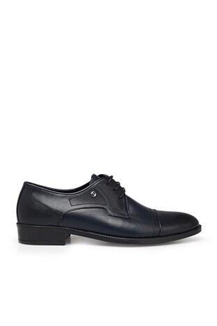 Pierre Cardin - Pierre Cardin Hakiki Deri Klasik Erkek Ayakkabı 07363352N LACİVERT