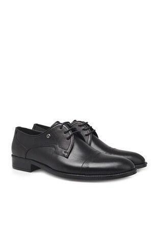 Pierre Cardin Hakiki Deri Klasik Erkek Ayakkabı 07363352N SİYAH