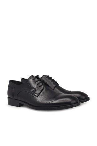 Pierre Cardin Hakiki Deri Klasik Erkek Ayakkabı 07363354N SİYAH