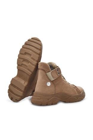 Pierre Cardin Süet Bayan Ayakkabı PC30495 BEJ SÜET