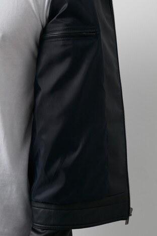 Pierre Cardin Suni Erkek Deri Ceket PCSE1755-CMAR LACİVERT