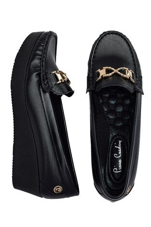 Pierre Cardin Tokalı Bayan Ayakkabı PC-50803 SİYAH