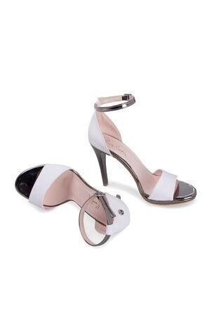 Pierre Cardin Topuklu Bayan Ayakkabı 54071 BEYAZ
