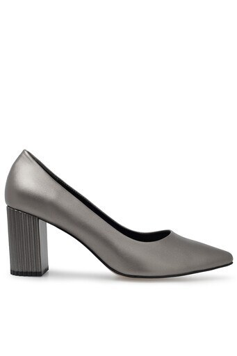 Pierre Cardin Topuklu Bayan Ayakkabı PC-50741 PLATİN