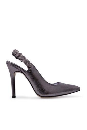 Pierre Cardin Topuklu Bayan Ayakkabı PC50133 PLATİN