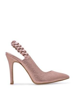 Pierre Cardin - Pierre Cardin Topuklu Bayan Ayakkabı PC50133 PUDRA