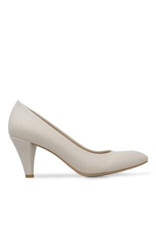 Pierre Cardin - Pierre Cardin Topuklu Bayan Ayakkabı PC50178 BEJ