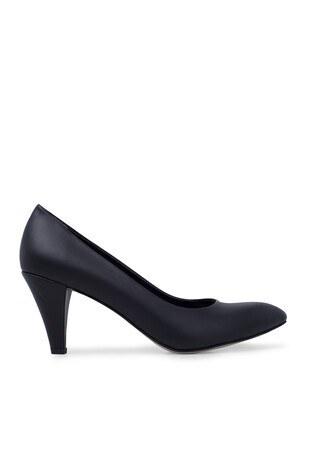 Pierre Cardin - Pierre Cardin Topuklu Bayan Ayakkabı PC50178 SİYAH