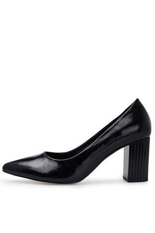 Pierre Cardin Topuklu Rugan Bayan Ayakkabı PC-50741P SİYAH