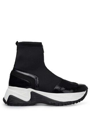 Pierre Cardin Yüksek Bilekli Bayan Ayakkabı PC-30317 SİYAH