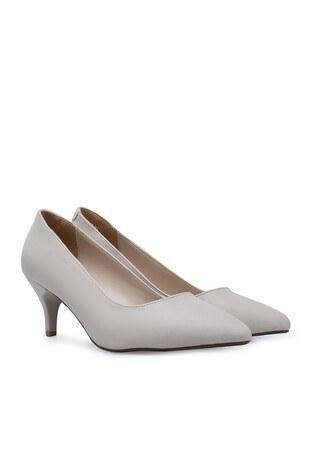 Polaris Topuklu Bayan Ayakkabı 91307282Z BEJ