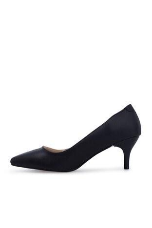 Polaris Topuklu Bayan Ayakkabı 91307282Z SİYAH