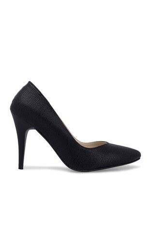 Polaris - Polaris Topuklu Bayan Ayakkabı 92307263YZ SİYAH