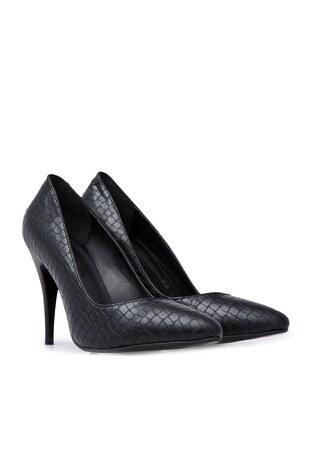 Polaris Topuklu Bayan Ayakkabı 92314118Z SİYAH