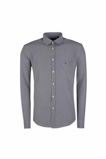 SABRİ ÖZEL Erkek Gömlek 39011 SİYAH