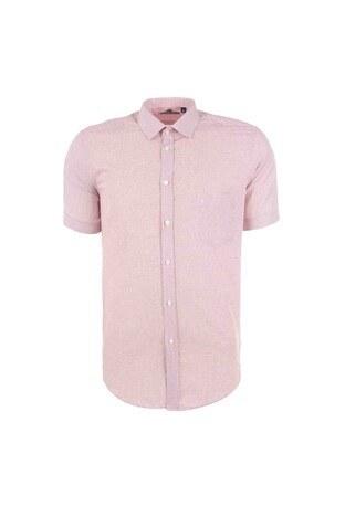Sabri Özel - Sabri Özel Erkek Gömlek 3902020 KIRMIZI