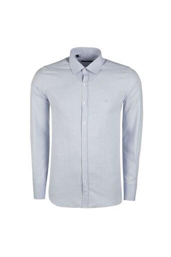 SABRİ ÖZEL Erkek Gömlek 4183577 MAVİ