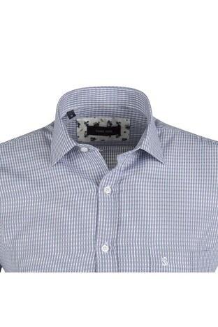 SABRİ ÖZEL Erkek Gömlek 4183725 MAVİ