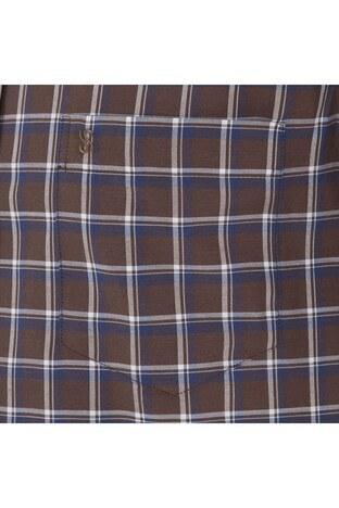 SABRİ ÖZEL Erkek Gömlek 4184006 KAHVE