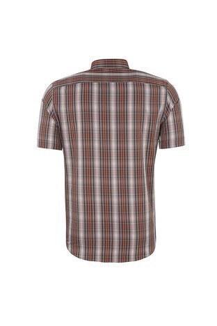 SABRİ ÖZEL Erkek Kısa Kollu Gömlek 4185026 TURUNCU
