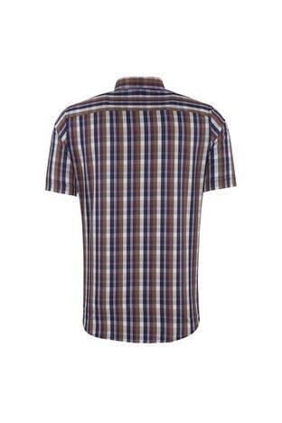 SABRİ ÖZEL Erkek Kısa Kollu Gömlek 4185030 LACİVERT