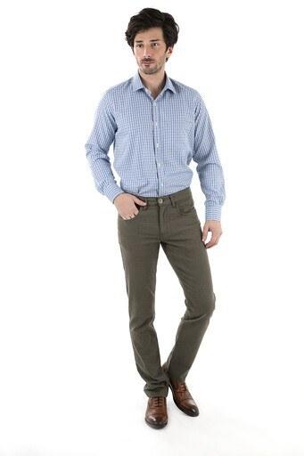 SABRİ ÖZEL Erkek Pantolon MK8PNOK035 YEŞİL